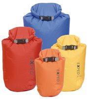 Exped Drybag 4 Pack 3L-5L-8L-13L Waterproof Folding Dry Bag Set