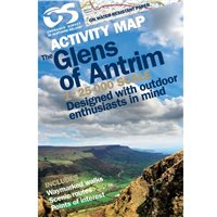 OS Northern Ireland Glens of Antrim 1:25000 Map