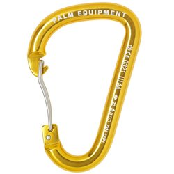 Palm Equipment Wire Gate Anodized Aluminium Carabiner Rescue Equipment