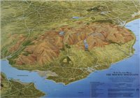 Fir Tree Maps Mournes Laminated