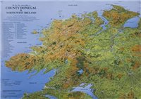Fir Tree Maps Donegal Laminated Map