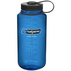 Nalgene Tritan Bottle 1L Wide Mouth with Loop-top Cap