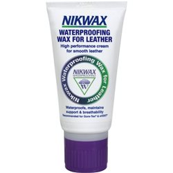Nikwax Waterproofing Wax Cream 100ml for Smooth Leather Fabrics