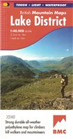 Harvey Maps BMC Lake District 1:40000 Map