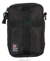 Dive Rite Bellows Zip Dive Pocket with Daisy Chain