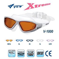 View Swim Goggles Xtreme V-1000 Anti-Fog UV Protection Swim Mask