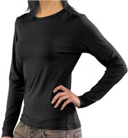 Silkbody  Womens Long Sleeve Crew