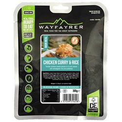 Wayfayrer Food Chicken Curry Potatoes & Rice Ready To Eat Backpacking Food