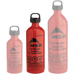 MSR Fuel Bottle 20oz / 590ml Liquid Fuel Stove Replacement