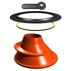 Waterproof Silicone Neck Seal Kit for Drysuits