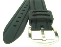 Beaver Silicone Watch Strap 20-22mm x 145-176mm Replacement