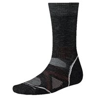 Smartwool Mens PhD Outdoor Medium Crew Socks (Option: XL Charcoal)