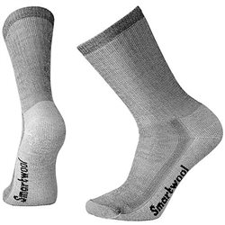 Smartwool Mens Hiking Medium Crew Socks (Options: S Gray, M Gray, XL Gray, L Gray)