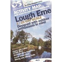 OS Northern Ireland Lough Erne 1:25000 Laminated Map