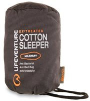 Lifeventure EX3 Cotton Mummy Sleeper