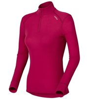 Odlo Womens Warm L/S Turtle ½ Zip
