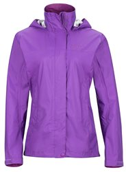 Marmot Womens Precip Waterproof Jacket (Option: XS Neon Berry)