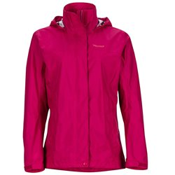 Marmot Womens Precip Waterproof Jacket (Option: XS Sangria)