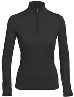 Icebreaker Womens Oasis Long Sleeve Half 2017-18 Zip Base Layer