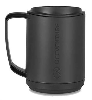 Lifeventure Ellipse Insulated Mug 350ml Durable Plastic Mug  - Click to view larger image