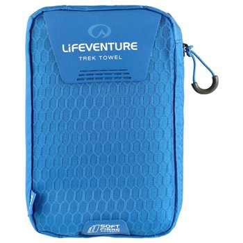 Lifeventure SoftFibre Trek Towel Large 110x65cm Lightweight Fast Dry  - Click to view larger image