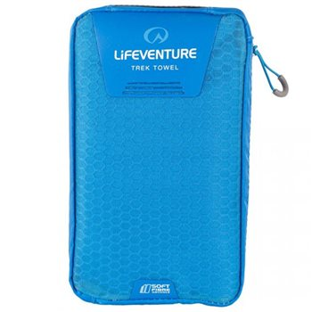 Lifeventure SoftFibre Trek Towel Giant 150x90cm Lightweight Fast Dry  - Click to view larger image