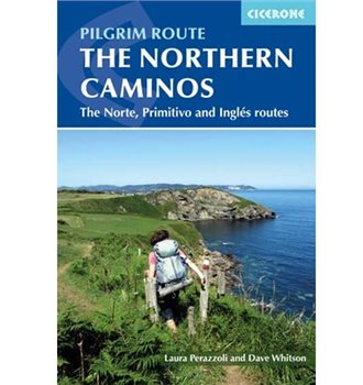 Cicerone Press The Northern Caminos Book  - Click to view larger image