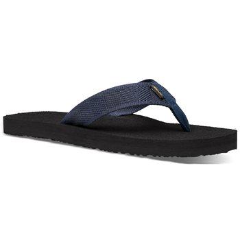 Teva Mens Mush 2 Canvas Slip-on Sandals Raki Dark Denim - Click to view larger image
