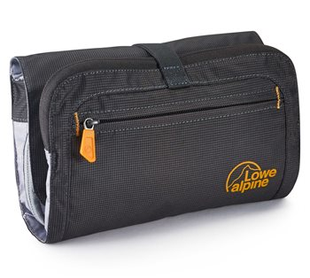 Lowe Alpine Roll Up Wash Bag with Integrated Smash Proof Mirror  - Click to view larger image