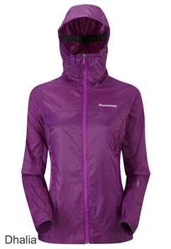 Montane Female Lite Speed Jacket 2018  - Click to view larger image