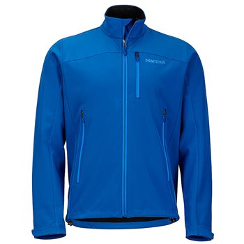 Marmot Mens Shield Jacket Soft Shell Dark Cerulean - Click to view larger image