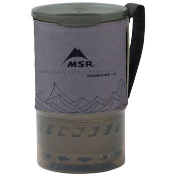 MSR WindBurner 1.0 1L Pot Personal Stove System Accessory  - Click to view larger image