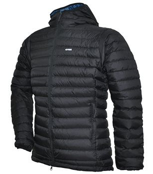 Crux Mens Halo Insulated Jacket Black - Click to view larger image