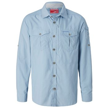 Craghoppers Mens NosiLife Adventure Long Sleeve Shirt  - Click to view larger image