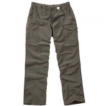 Craghoppers Mens NosiLife Cargo Trouser Reg Leg 31 Lightweight Bark - Click to view larger image