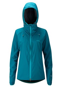 Rab Womens Vapour Rise One Jacket Soft Shell Merlin - Click to view larger image
