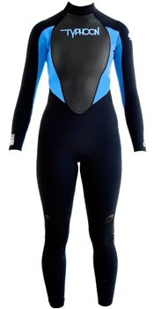 Typhoon Storm Girls 3mm Wetsuit  - Click to view larger image