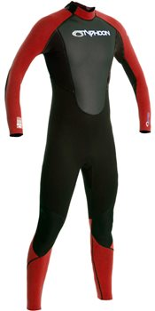 Typhoon Storm Boys 3mm Wetsuit  - Click to view larger image