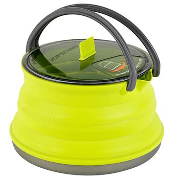 Sea to Summit X-Pot Kettle 1.3L Lightweight Collapsible Compact Pot Kettle  - Click to view larger image