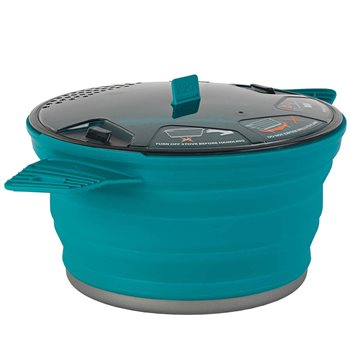 Sea to Summit X-Pot 2.8L 2-3 Person Lightweight Collapsible Compact Pot  - Click to view larger image