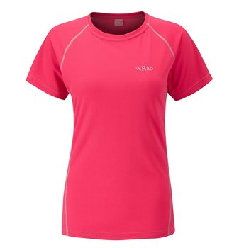 Rab Dryflo Short Sleeve 80 Womens  - Click to view larger image