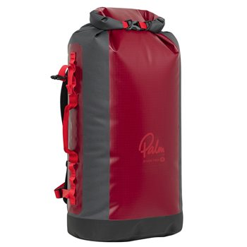 Palm Equipment River Trek 50L-75L-100L-125L Dry Bag with Shoulder Strap 50L Front - Click to view larger image