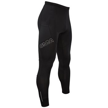 OMM Mens Flash Tight 1.0 Full Length Tight Stretch Legging  - Click to view larger image