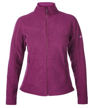 Berghaus Womens Activity 2.0 Jacket Dark Cerise Cerise Noir - Click to view larger image