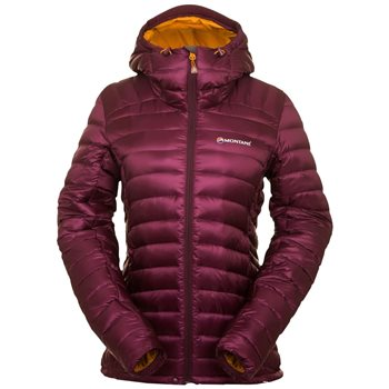 Montane Womens Female Featherlite Down Insulated Jacket  2019 Saskatoon Berry - Click to view larger image