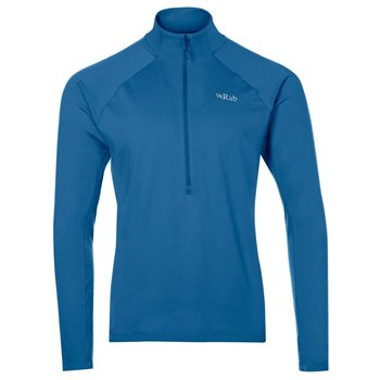 Rab Mens Flux Pull-On Base Layer  - Click to view larger image