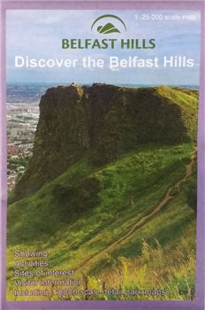 OS Northern Ireland Belfast Hills 1:25000 Map  - Click to view larger image