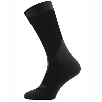 Sealskinz Mens Trekking Thick Mid Socks  - Click to view larger image