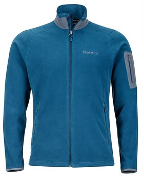 Marmot Mens Reactor Jacket Fleece Jacket Denim - Click to view larger image