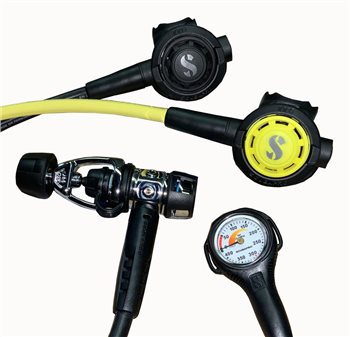 Scubapro MK2 Evo R295 Regulator Octopus and Gauge Package  - Click to view larger image